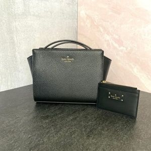 NWT Kate Spade Grand St Crossbody & Card Wallet